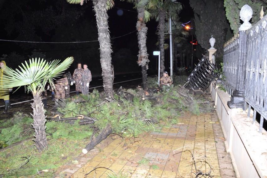 ураган в Сочи