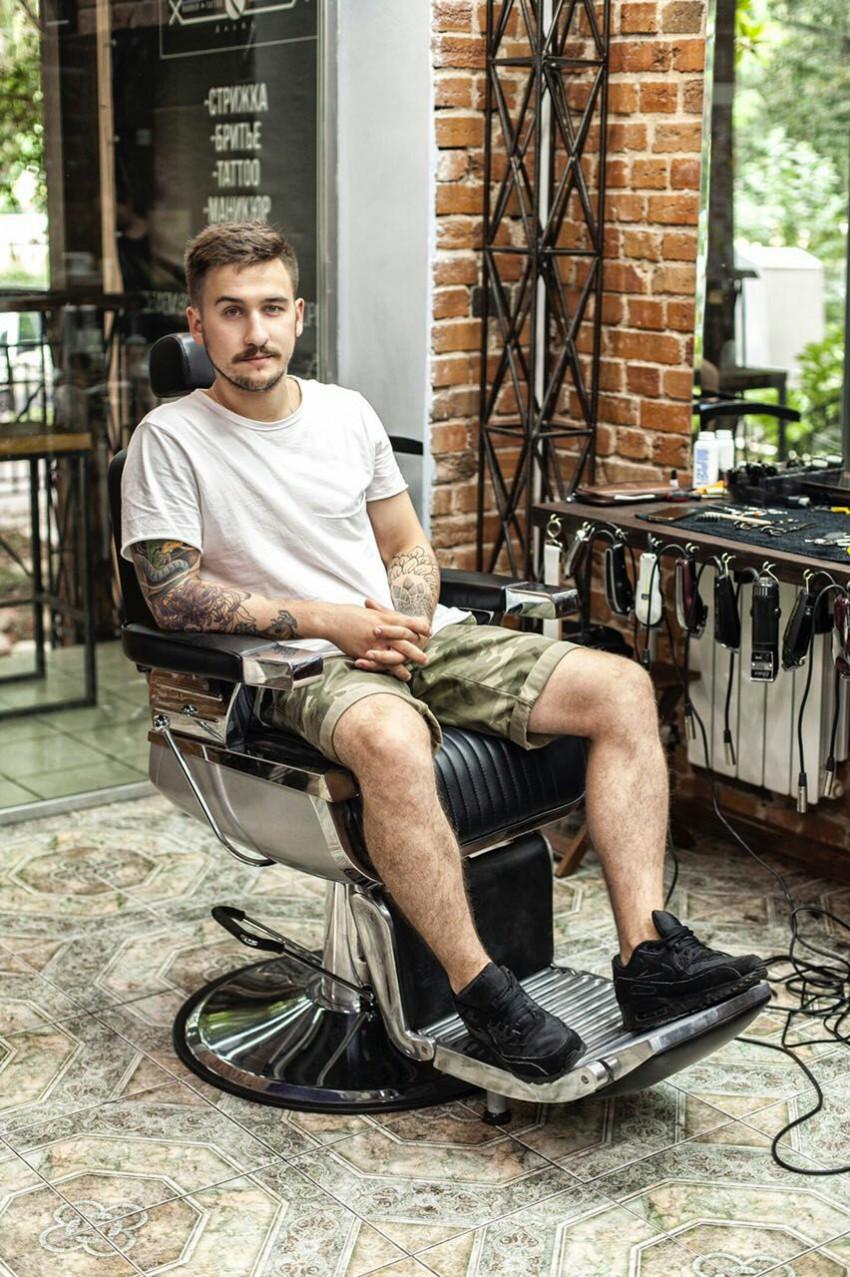Основатель мужской сочинской цирюльни Trueman s Илья Казаков