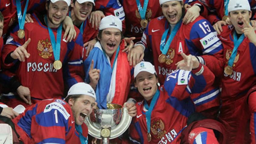хоккей, россия