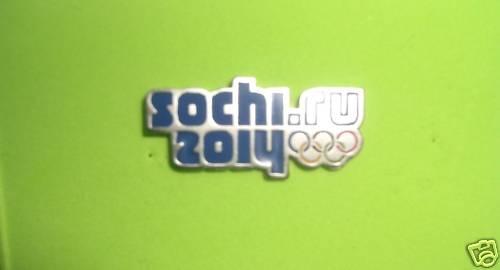 Sochi 2014 Olympic Pin