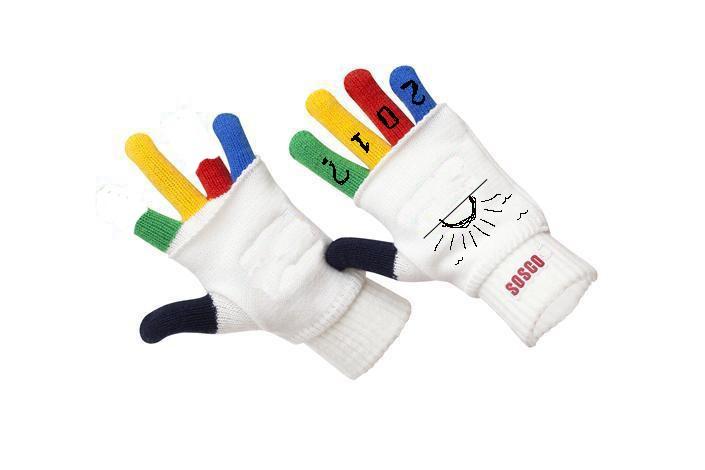 купить женские красивые перчатки трикотажные