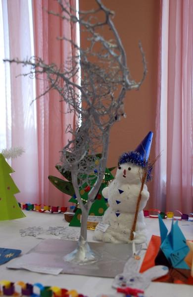 Новогодняя композиция своими руками для детского сада