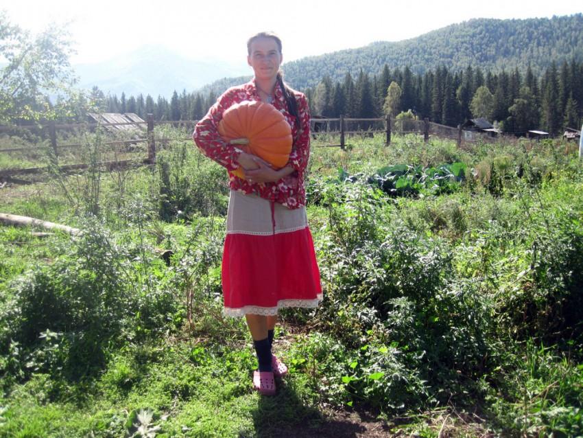 огород и юбка