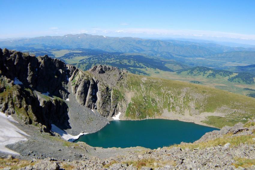 четвёртое озеро Красная горка