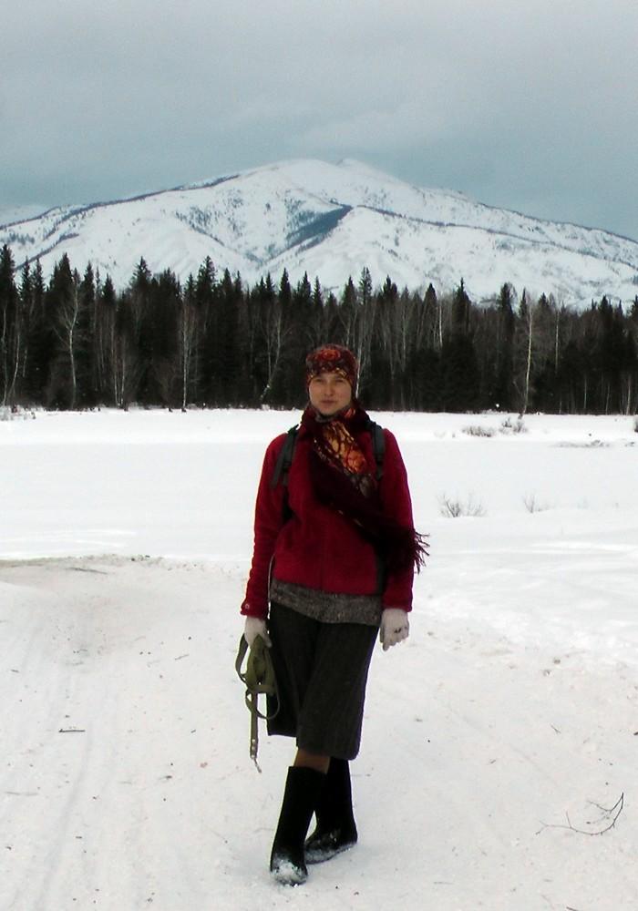 зимой в юбках