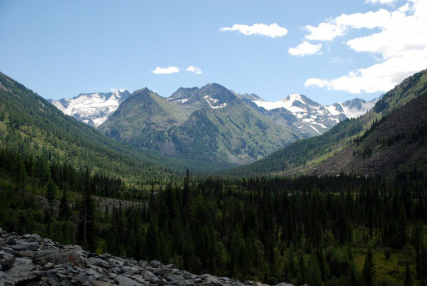 исток среднего мультинского озера
