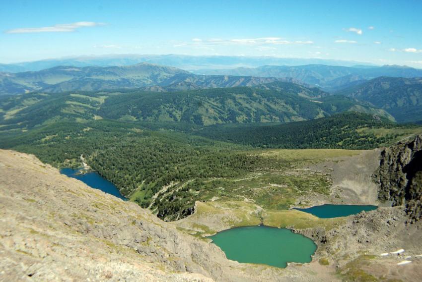 три озера Красная горка