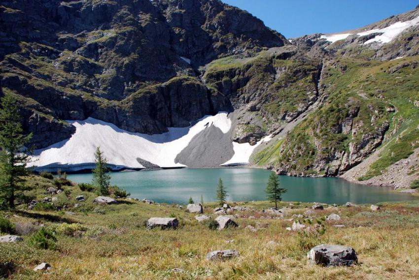 второе озеро
