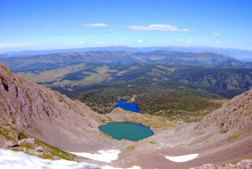 два озера Красная горка