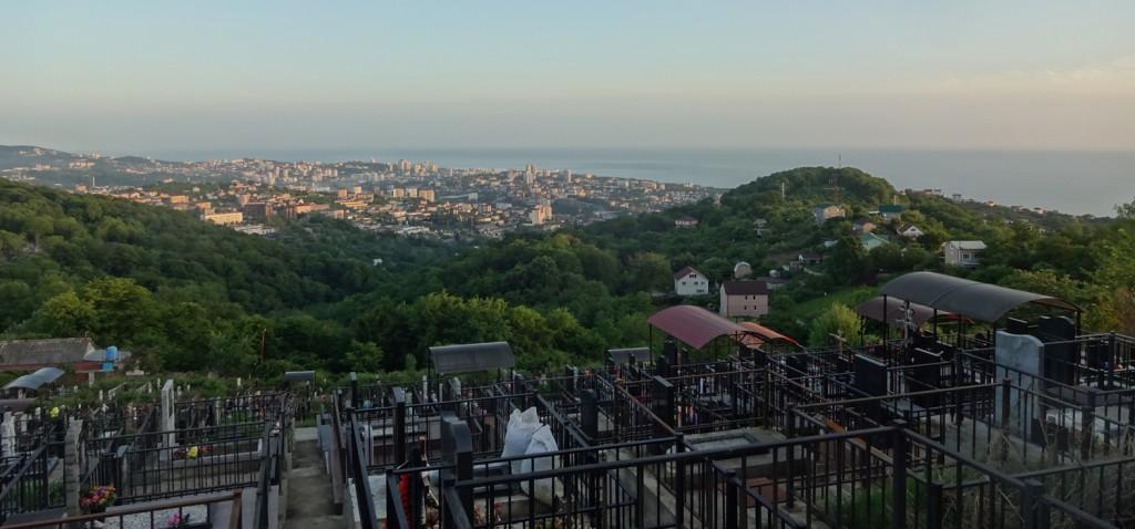 Барановское кладбище над на Сочи