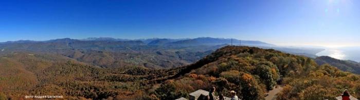 Виртуальная панорама с башни Ахун
