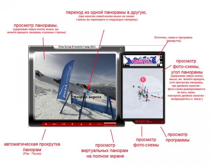 "Виртуальный тур ""Роза Хутор Freestyle Camp"" 2011"