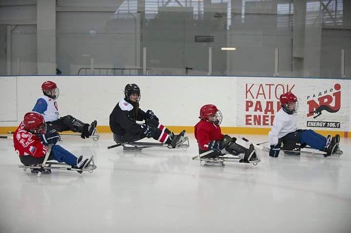 Детский следж-хоккей в Сочи