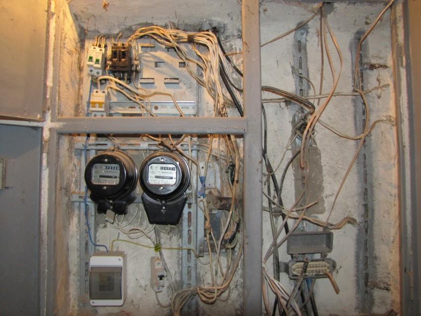 Проводка в старой квартире