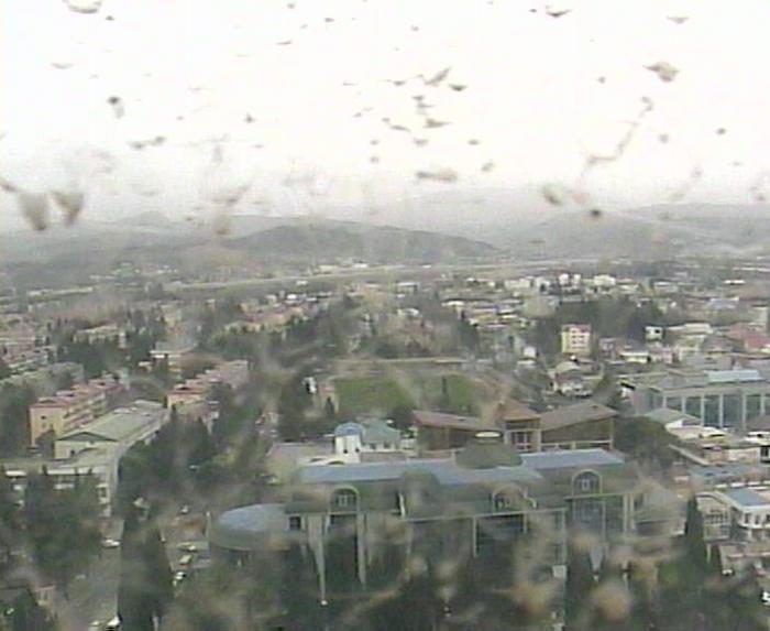 Грязь на веб-камере после дождя