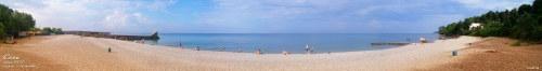пляж Ласточка панорама