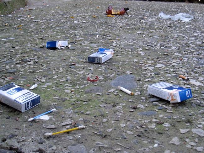 как заставить жителей выбрасить строительный мусор такие