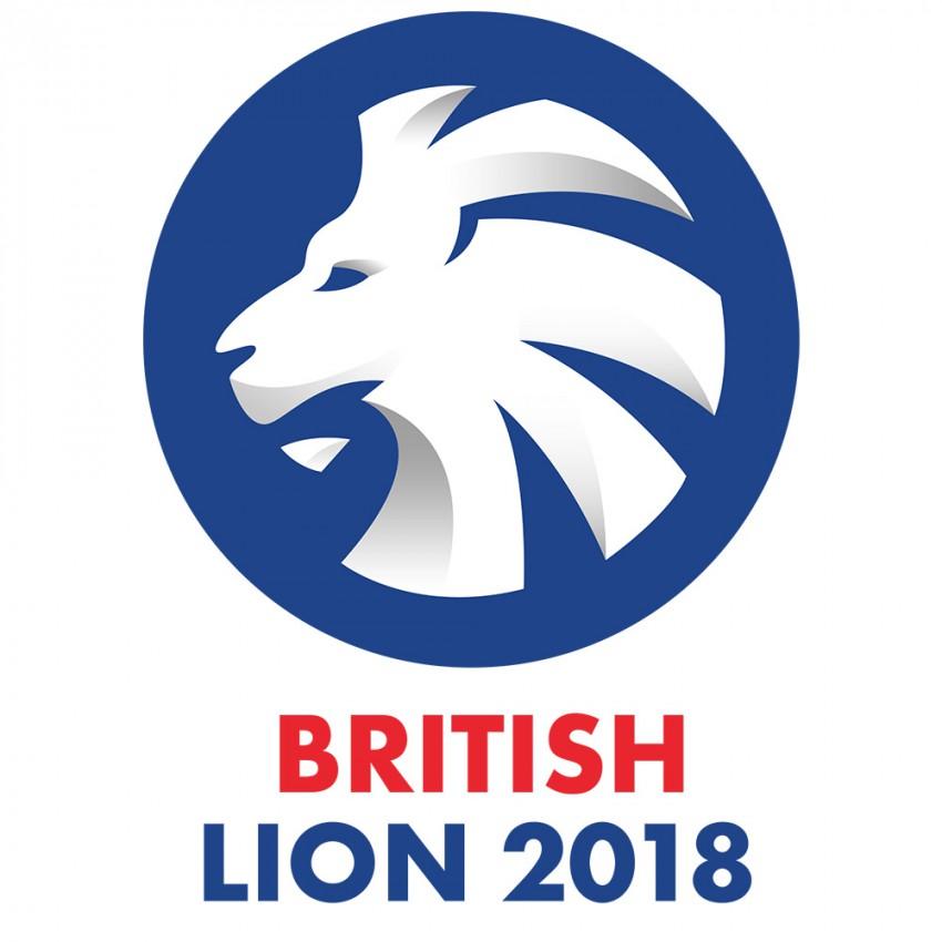 логотип конкурса английской поэзии Британский лев 2018 Сочи