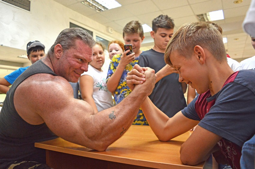 фото из летнего английского лагеря в Сочи