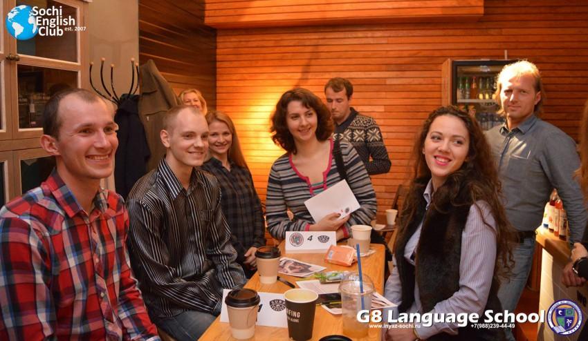 фото с урока на курсах английского языка в Сочи
