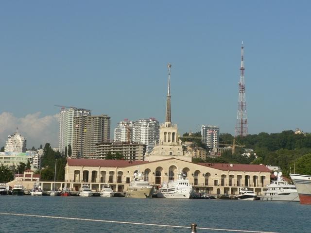 яхта, морской порт Сочи
