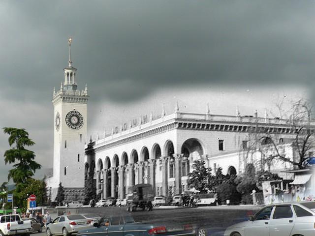 Сочи, вокзал