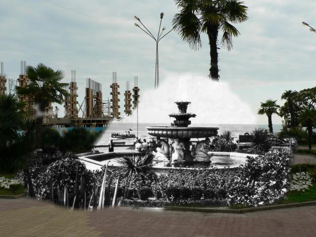Сочи, фонтан