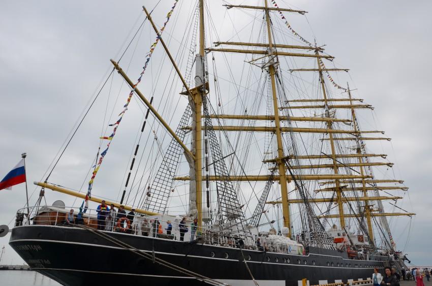 Черноморская регата: Крузенштерн