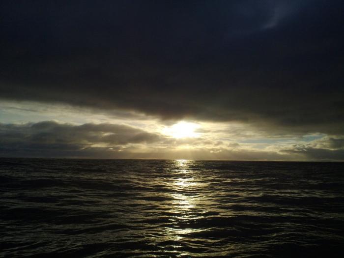 Закат над Кольским