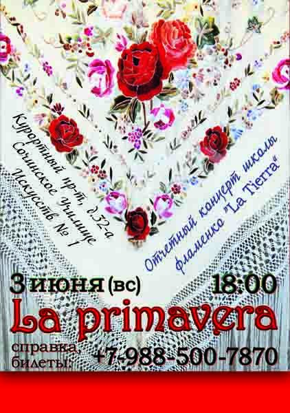 школа фламенко Землянкиной Ольги Tierra flamenca