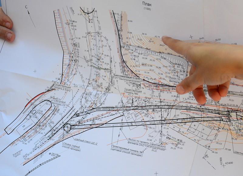 14. Схема подземных коммуникаций.