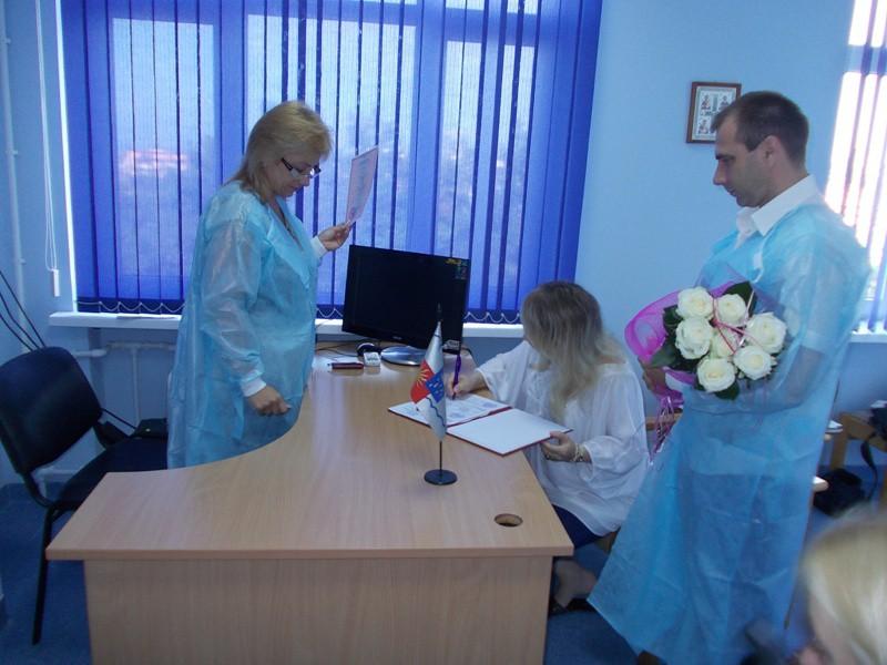 Бракосочетание в роддоме
