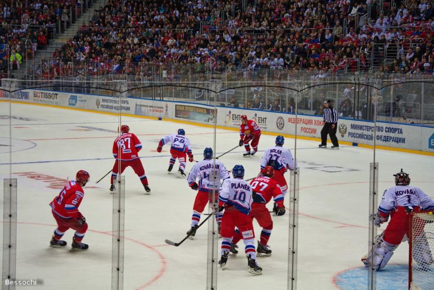 хоккея россия результат