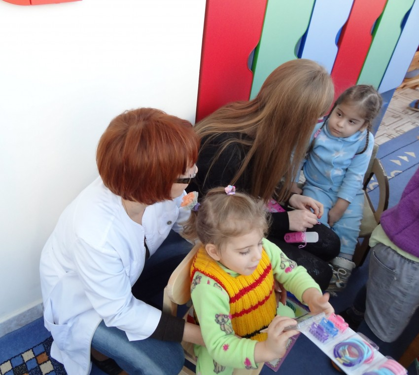 Встреча с детишками из Сочинского Детского Дома Ребенка