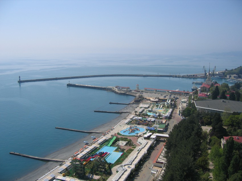 Абхазия вид сверху 7