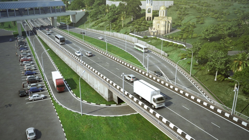 Будущая транспортная развязка