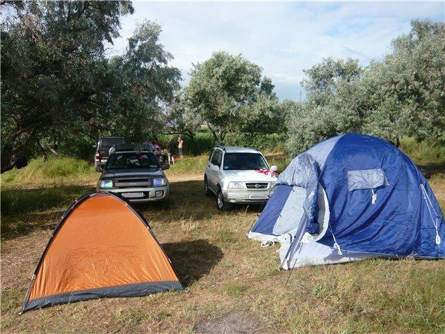 отдых палатки азовское море