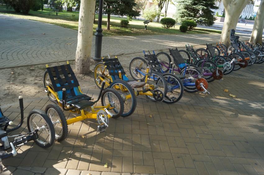 Самоделки из велосипедов своими руками 16