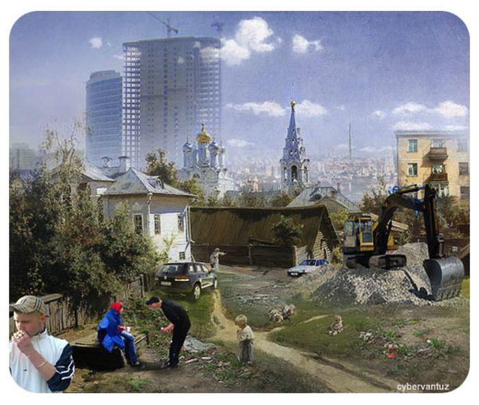 И «московский дворик 2011»