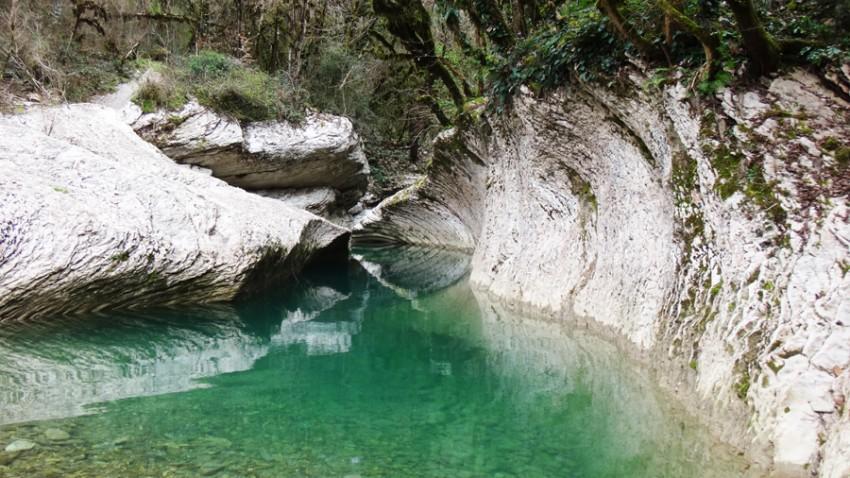 каньоны сочи фото
