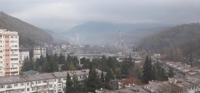 Дагомыс, завод, загрязнение