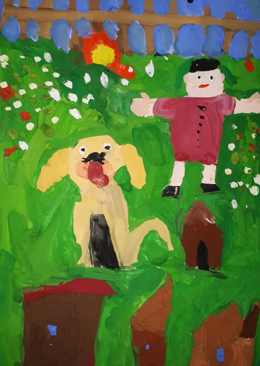 Конкурс детского рисунка СОБАКИ НАШИ ДРУЗЬЯ