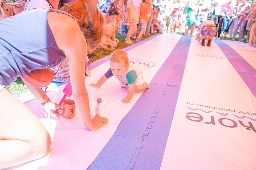 Чемпионат в ползунках Baby Run