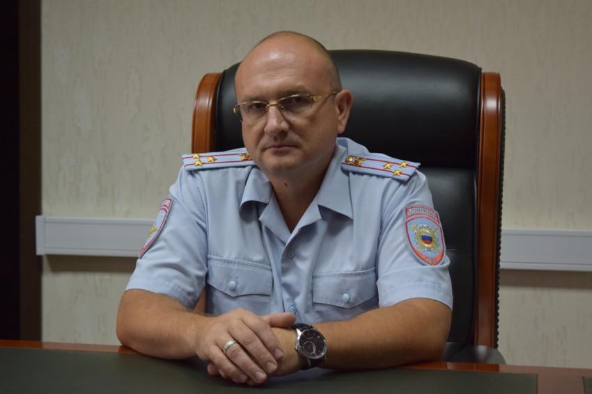 Начальник полиции полковник полиции Папанов Александр Александрович