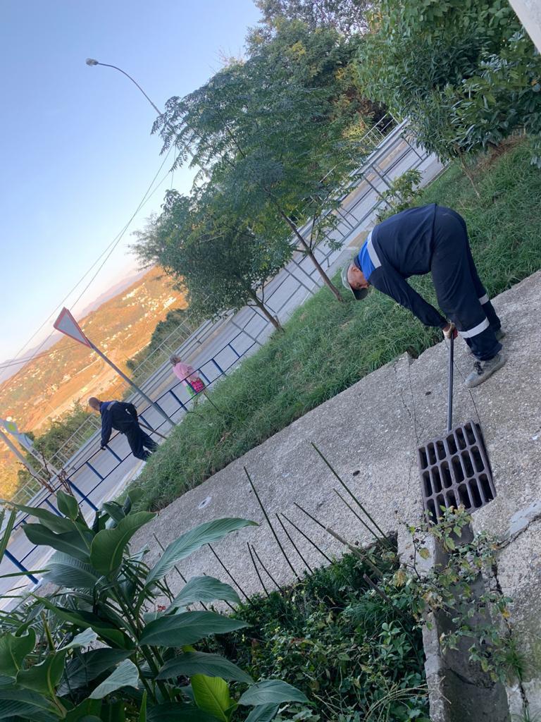 Дом номер 12 по улице Ясногорской. Здесь уже начались работы по благоустройству придомовой территории в рамках договора жителей с компанией-застройщиком.