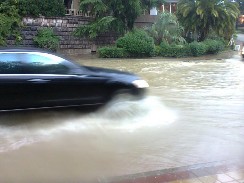 Наводнение в Сочи