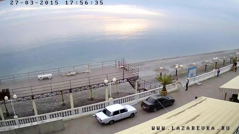 Онлайн веб-камеры Адлера: набережная, пляжи, море и