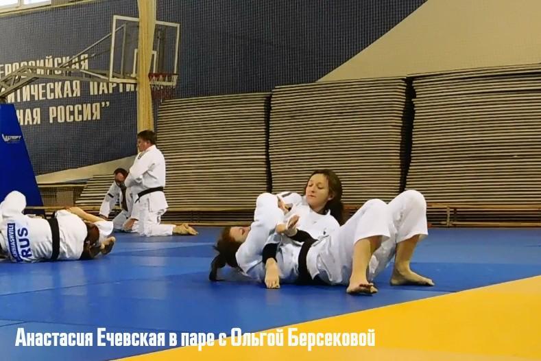 Мастер спорта Анастасия Ечевская и МСМК Ольга Берсекова