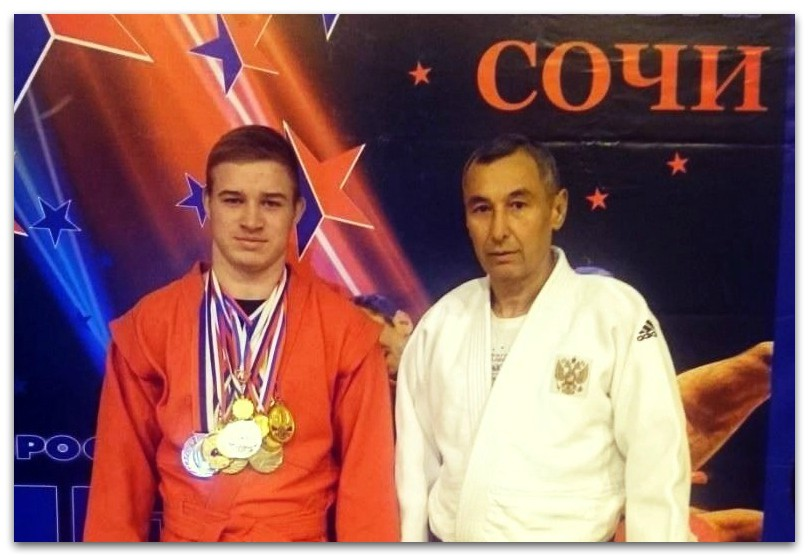 Тернов Егор с тренером Дубровским Сергеем Владимировичем