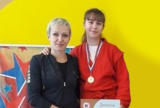 Авдеева Мария с тренеров Авдеевой Ольгой Васильевной